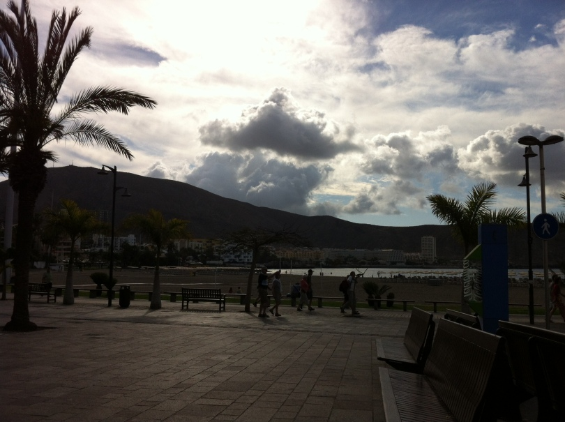 Promenade scene, Tenerife, Canary Islands, Spain. [Photo by me, 2016.]
