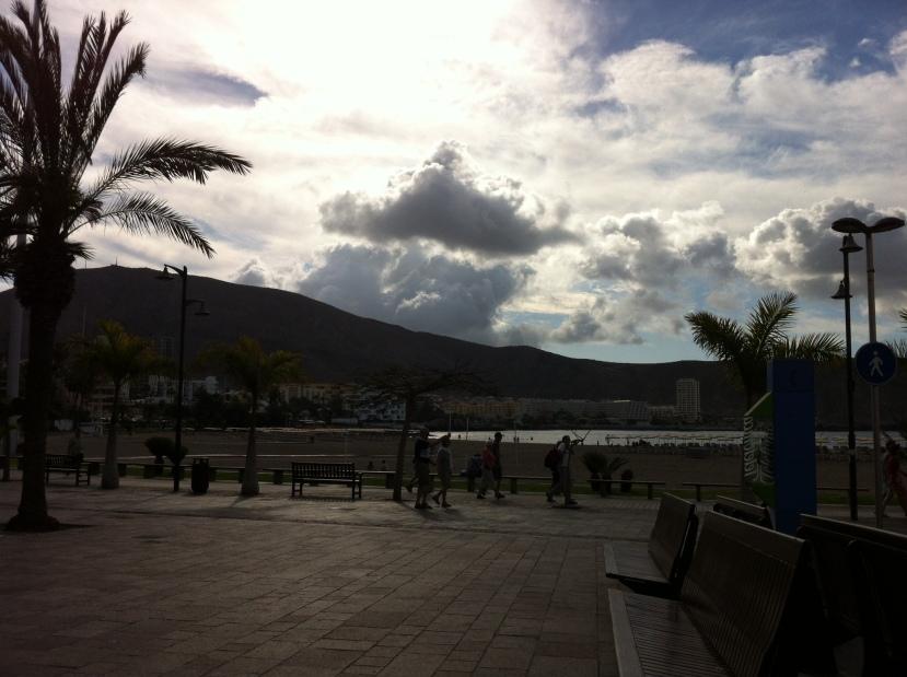Promenade scene, Tenerife, Canary Islands, Spain. [Photo by me, 2016.]