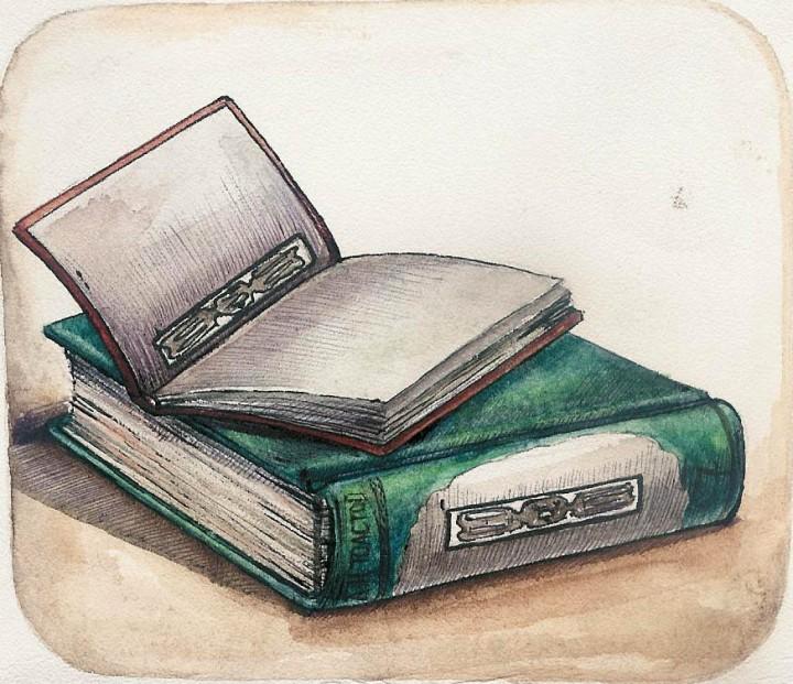 Free Stock Photo: Illustration of books.