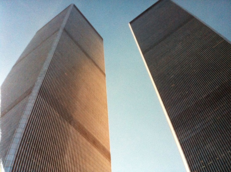 New York's Twin Towers. [Photo by me, 1991.]