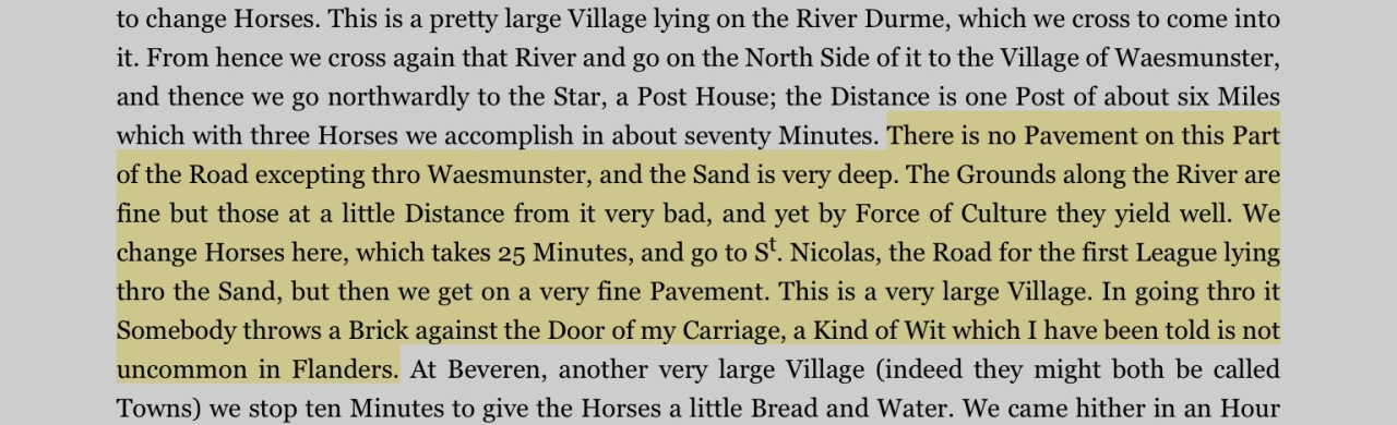 """From Gouverneur Morris, """"A Diary of the French Revolution,"""" on Kindle for iPad."""