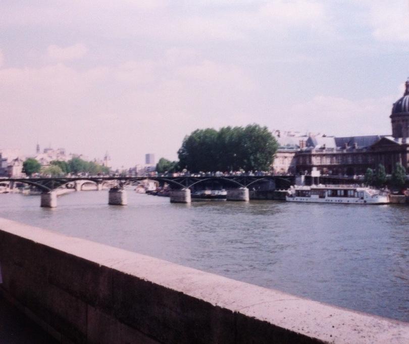 The Seine, Paris, France. [Photo by me, 1994.]