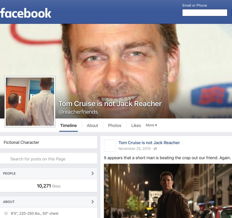 Screen capture of Facebook.