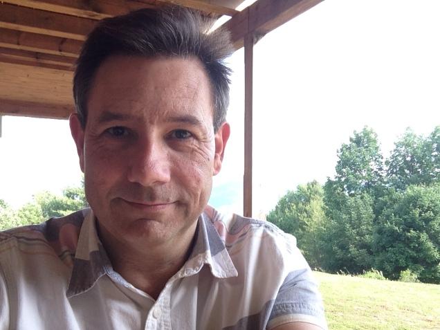 Selfie. Me. Catskills. [June 2016.]
