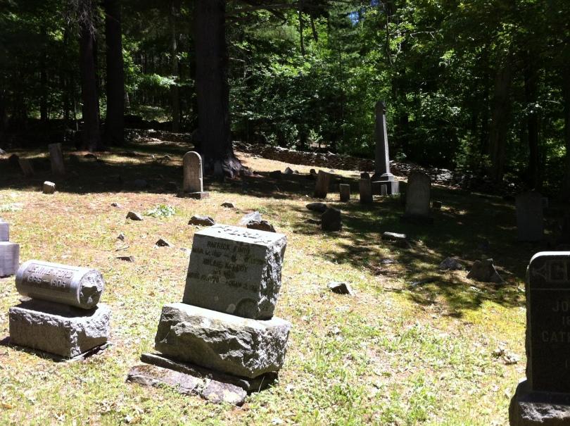 St. Joseph's Chapel graveyard. [Photo by me, 2016.]
