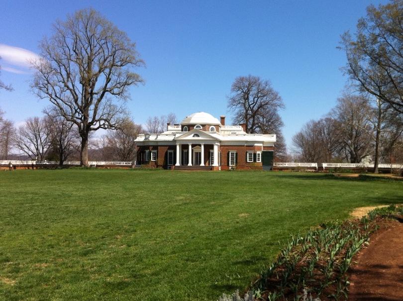 Thomas Jefferson's home, Monticello, Virginia. [Photo by me, 2011.]