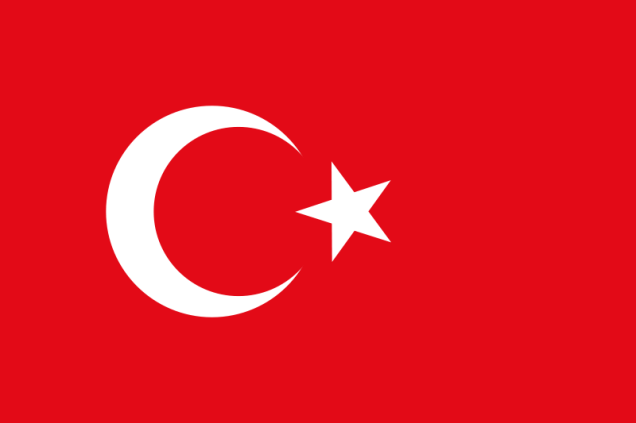 Free Stock Photo: Flag of Turkey.