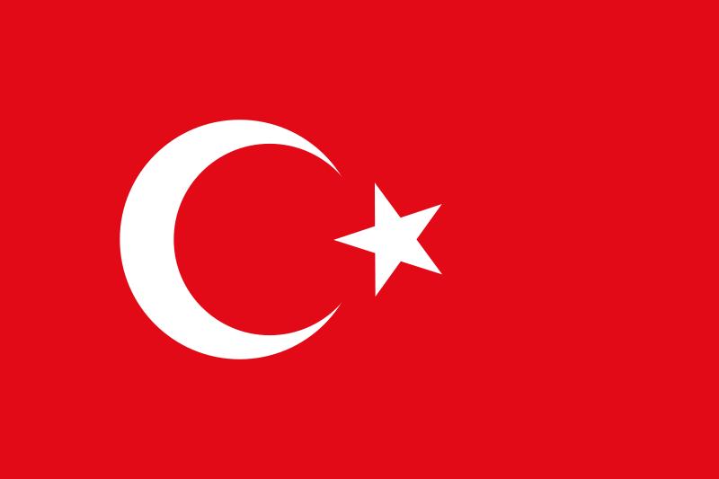 Free Stock Photo: Flag of Turkey.