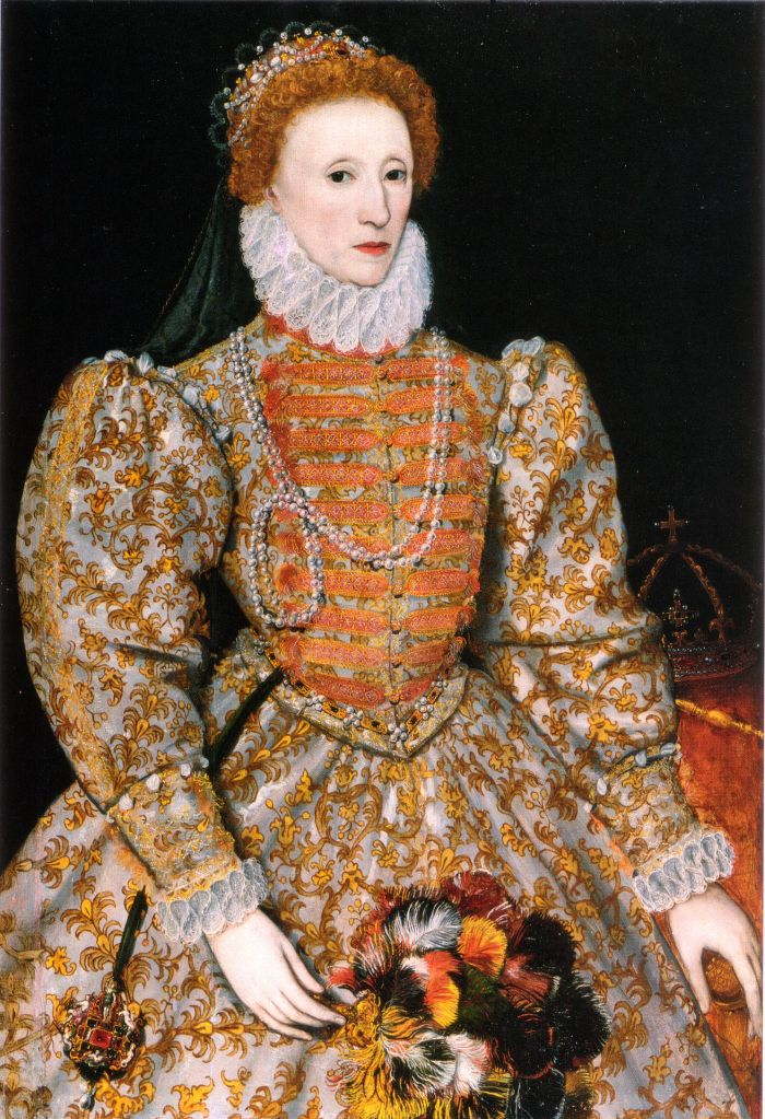 Unknown artist. Queen Elizabeth I. [Public Domain.]
