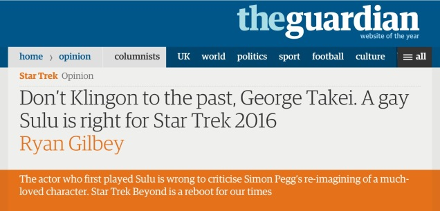 Screen capture of the Guardian, July 10, 2016.