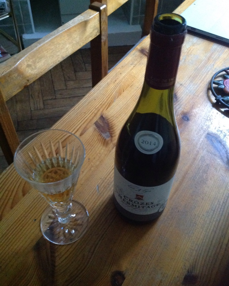 Champagne and French wine, to celebrate U.S. Independence Day. [Photo by me, 2016.]