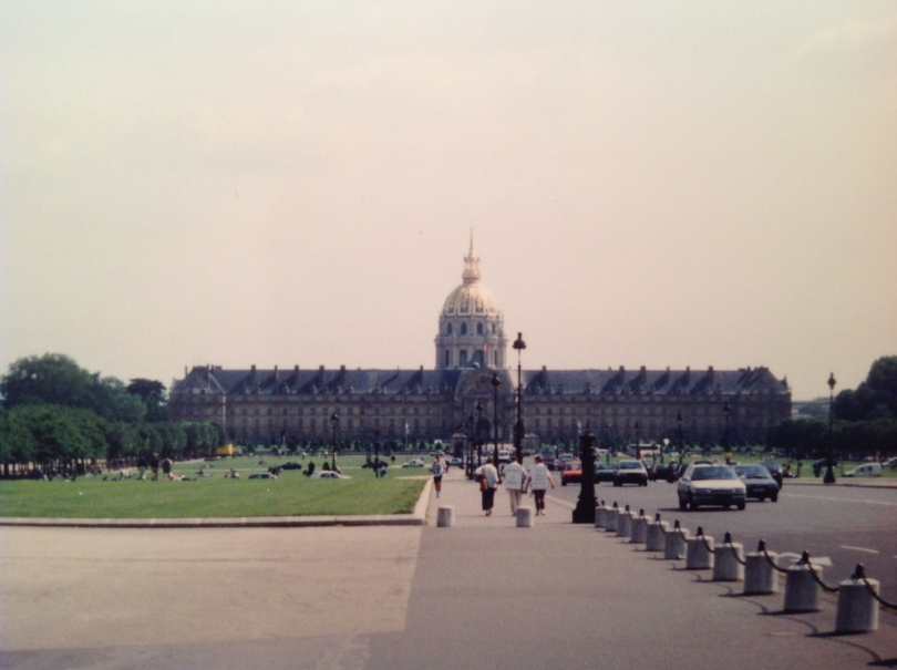 Hôtel des Invalides, Paris. [Photo by me, 1994.]