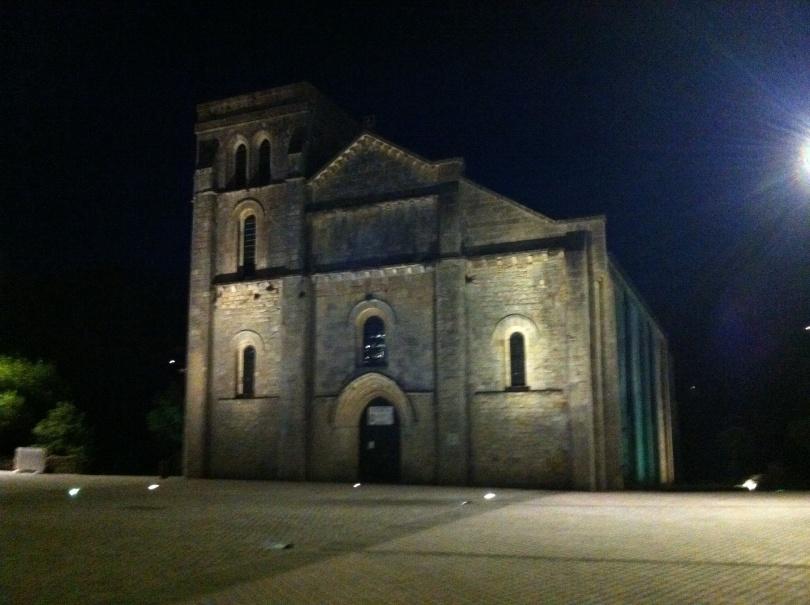 Notre-Dame-de-la-Fin-des-Terres Basilica in Soulac-sur-Mer. [Photo by me, 2016.]