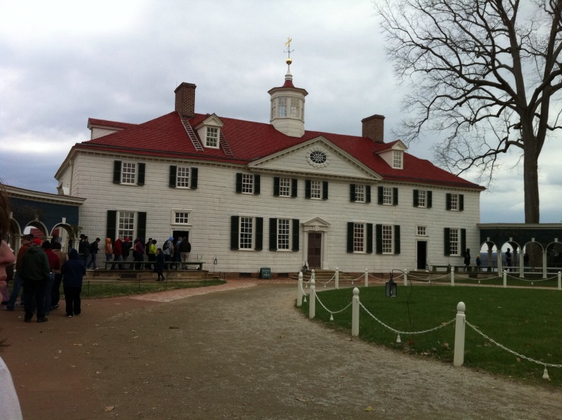 George Washington's Mount Vernon. [Photo by me, 2011.]