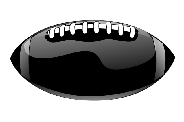 Free Stock Photo: Illustration of a football.