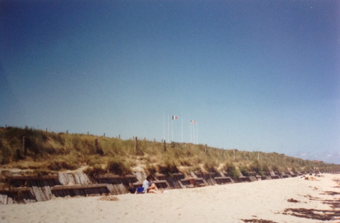 The beach stretch not far from La Madeleine, known since June 6, 1944 as
