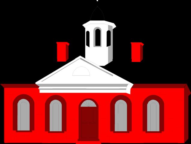 Free Stock Photo: Illustration of Independence Hall in Philadelphia.