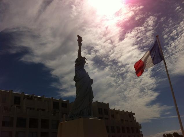 Lafayette Memorial, Soulac-sur-mer (near Bordeaux), France. [Photo by me, 2016.]