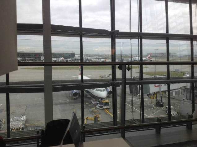 View from Heathrow Terminal 5. [Photo by me, 2016.]