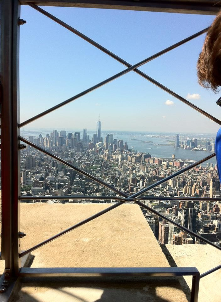 View from the Empire State Building. [Photo by me, 2013.]