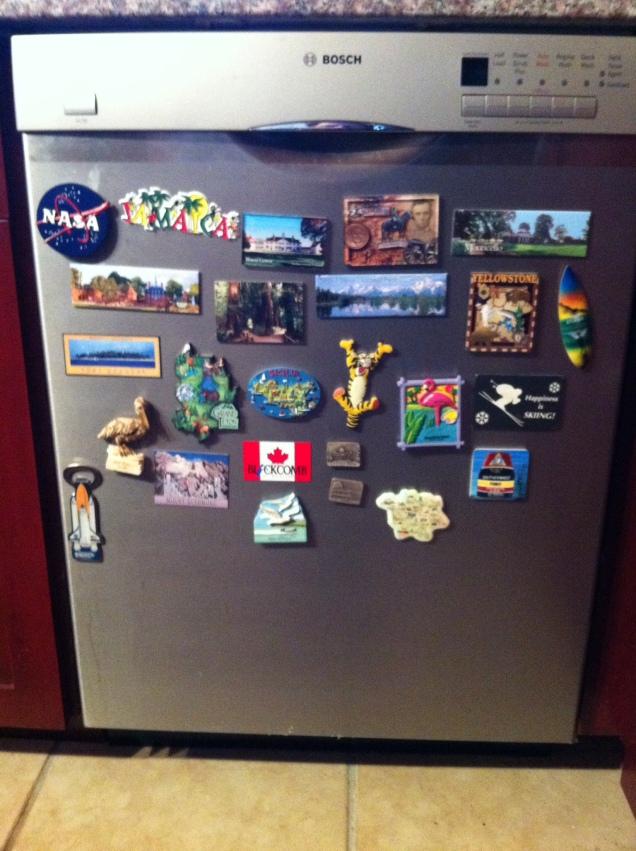 Catskills dishwasher. [Photo by me, 2016.]