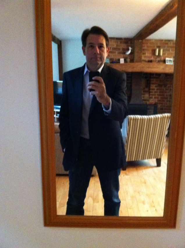 I have a new blazer. Selfie. [2016.]