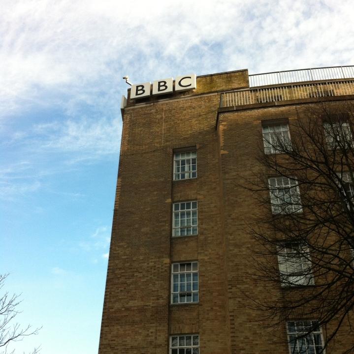 BBC Northern Ireland. [Photo by me, 2016.]