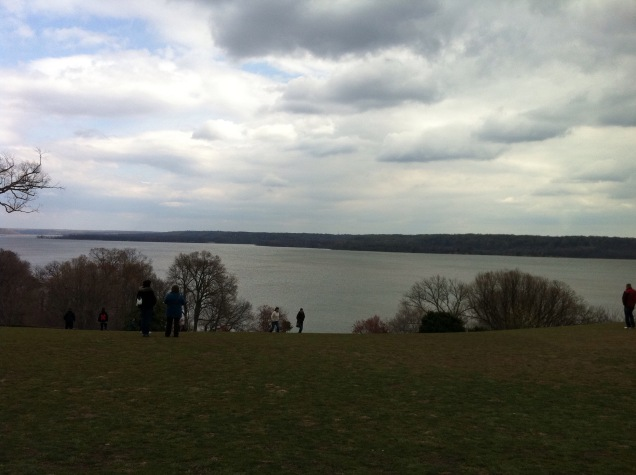 View of the Potomac River from George Washington's rear porch. [Photo by me, 2011.]
