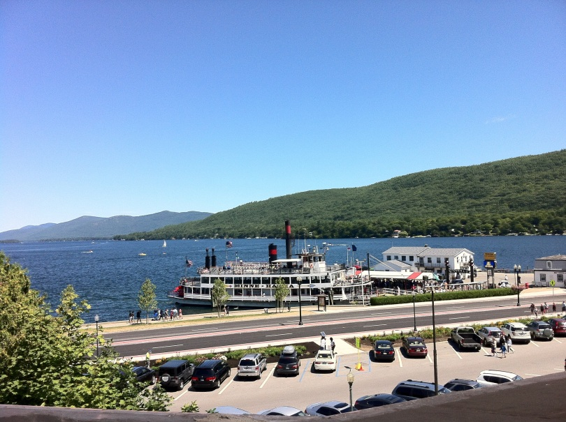 Overlooking Lake George, New York. [Photo by me, 2013.]