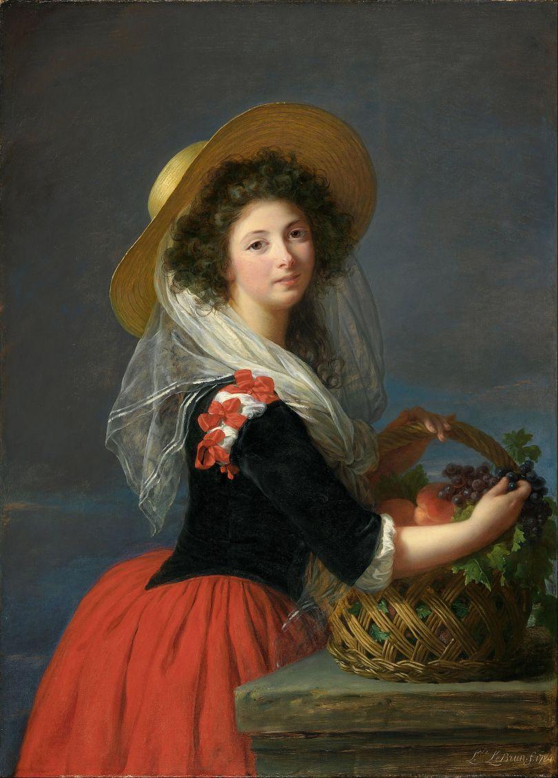 """Louise Élisabeth Vigée Le Brun (1755–1842). """"Marie Gabrielle de Gramont, Duchesse de Caderousse"""" (1784)."""
