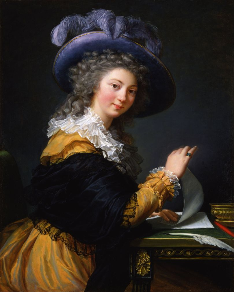 """Louise Élisabeth Vigée Le Brun (1755–1842): """"Comtesse de Cérès"""" (1784)."""