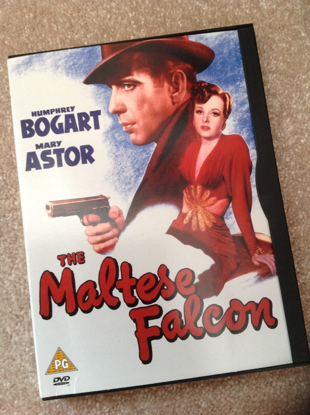 The Maltese Falcon on DVD. [Photo by me, 2016.]