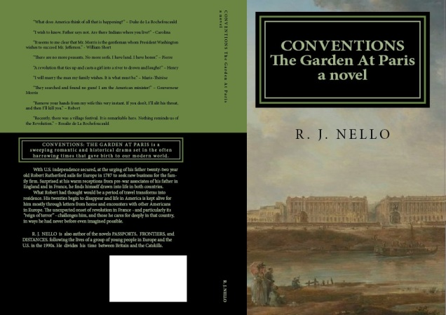Working Covers, Conventions: The Garden At Paris.
