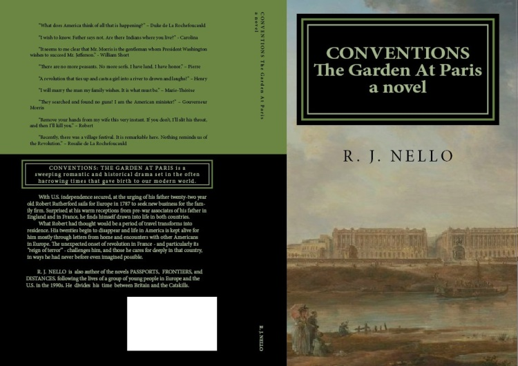 Working covers, Conventions: The Garden At Paris. Click to expand.