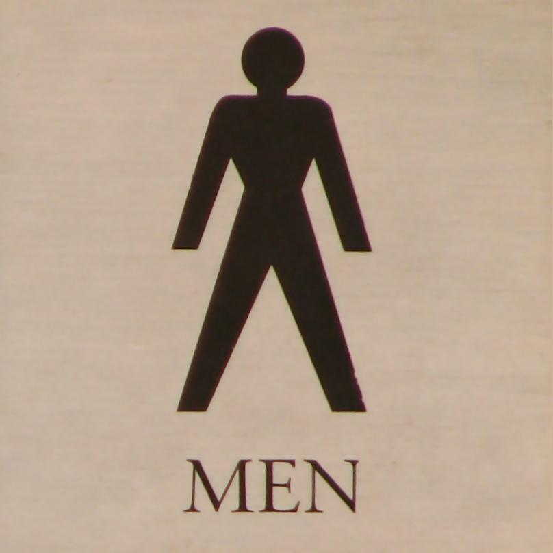 Stock photo. Men Symbol.