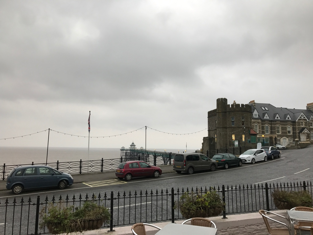 In Clevedon. [Photo by me, 2017.]